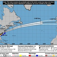 State of Emergency Declared in Virginia Ahead of Tropical Storm Michael