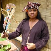 巴厘岛传统影剧院,由大师级艺术家古斯蒂·苏达塔主打