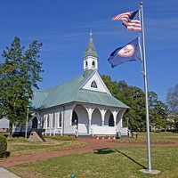 A new sound art exhibit at the Confederate Memorial Chapel uses powerful oration to reflect on a country united