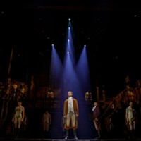 "Being There: ""Hamilton"" media night at Altria Theater, Nov. 20."