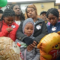 Emotional Hillside Court Vigil Held for Toddler Killed in Crossfire