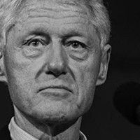 Bill Clinton Stumps for Wife at Hippodrome in Richmond