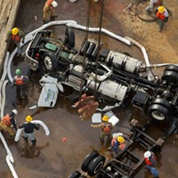 Photos: Previous Truck Accidents on the Chesapeake Bay Bridge-Tunnel
