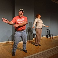 A comedy class is helping veterans find teamwork at home.