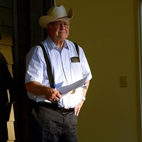 From Galax to Richmond, This Year's Folk Fest Host Still Wears His White Cowboy Hat