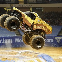 Monster Jam at the Richmond Coliseum