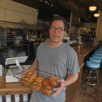 Nate's Bagels Opens its Cary Street Storefront Wednesday Morning