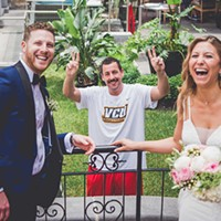 Yo, Check Out This Photo of Adam Sandler's Wedding Crashing T-shirt