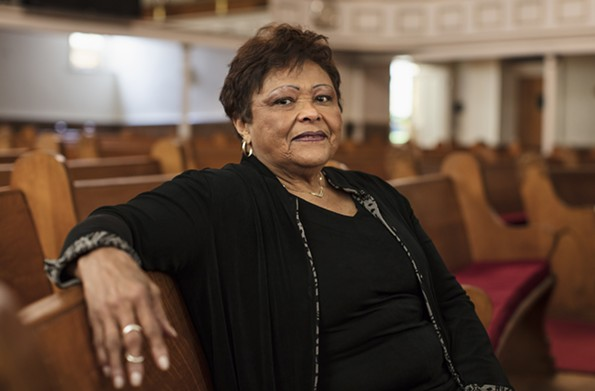 Yvonne A. Mimms-Evans, First Baptist of South Richmond, 2017. - BRIAN PALMER