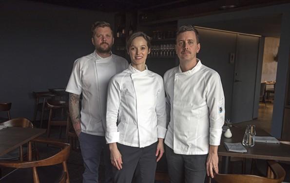 Longoven ownersAndrew Manning, Megan Fitzroy Phelan and Patrick Phelan. - SCOTT ELMQUIST