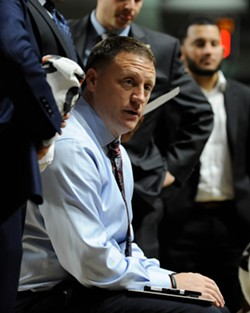 VCU Men's Basketball Coach Mike Rhoades was just named A-10 Coach of the Year. He's pulled together one of the best defenses in the country.