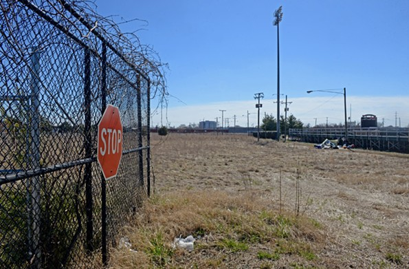 Not much has changed at the property in recent years. Many interested parties are waiting and watching the property now occupied by the state's Alcoholic Beverage Control warehouse next to the Diamond. The warehouse could be moving. - SCOTT ELMQUIST
