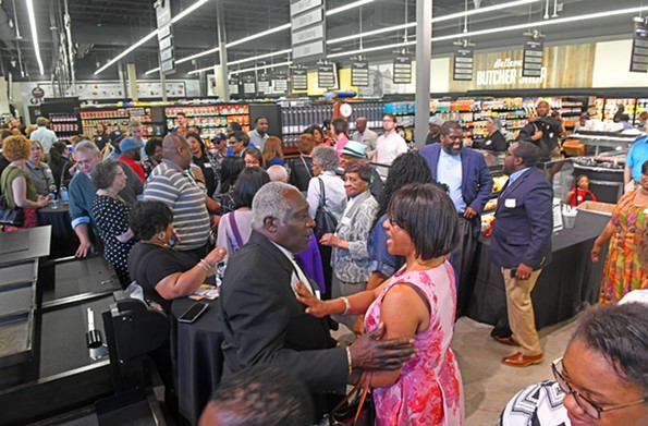 """This is simply beautiful,"" was an oft-heard comment from the scores of well-wishers who packed the Market at 25th Street for a preview of the grocery store. - SCOTT ELMQUIST"