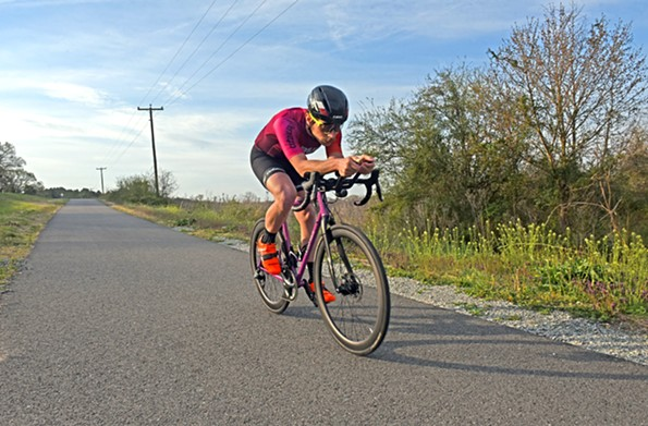 Tyndall understands the safety concerns of the Trans Am Bike Race: Riders have died in each of the last two years, both times in Kansas. - SCOTT ELMQUIST