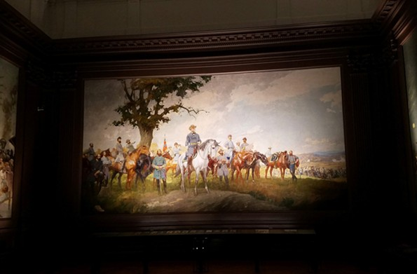 """The Virginia Museum of History & Culture's """"Seasons of the Confederacy"""" still has pride of place, but now has added context. - TOM NASH"""