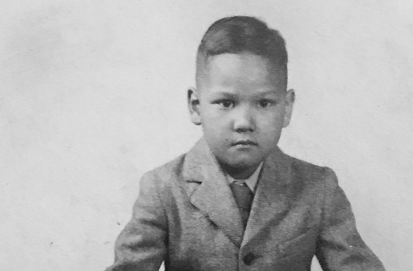 Regina Boone's father, Raymond Harold Boone, when he was a young boy growing up in Suffolk. He was born Feb. 2, 1938. - PHOTO COURTESY REGINA H. BOONE