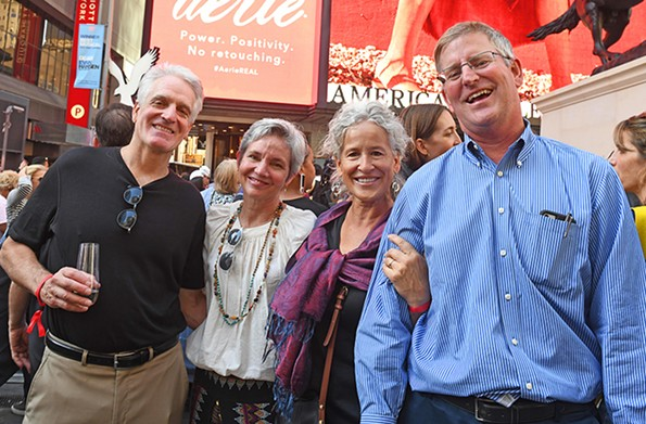 Paul and Julie Weissend and Sally and Greg Holzgrefe live in the Fan District. - SCOTT ELMQUIST