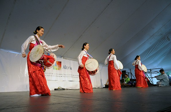 Known for its global sounds, the festival featured Sounds of Korea in 2009. - SCOTT ELMQUIST/FILE