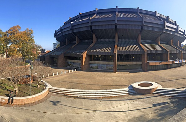 The Richmond Coliseum opened in 1971 and was shuttered recently. - SCOTT ELMQUIST
