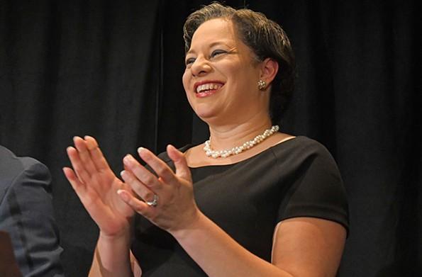 Sen. Jennifer McClellan of the Richmond area is considered a contender for the next gubernatorial election. - SCOTT ELMQUIST
