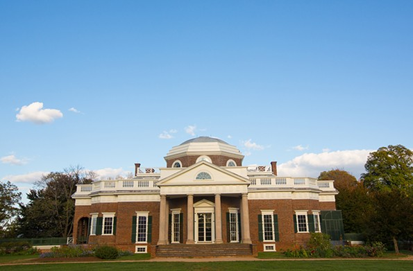 The West Wing of Monticello, where presumably only family and their personal guests entered the parlor. The East Wing opens into the Entrance Hall. - © JACK LOONEY PHOTOGRAPHY FOR THOMAS JEFFERSON FOUNDATION AT MONTICELLO