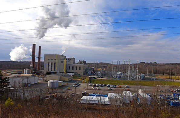 The Bremo Power Station in Fluvanna County burned coal starting in 1931 but switched to natural gas in June of 2014. - SCOTT ELMQUIST/FILE