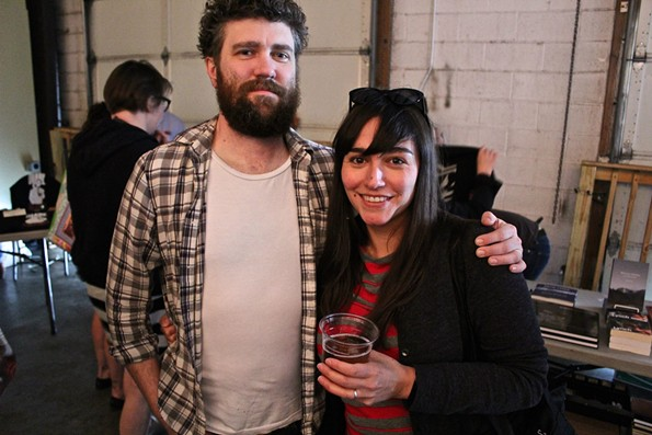 Marty and his wife, Nicole Lang Key, shown here at the inaugural Great Southern (Twin Peaks) Festival at Hardywood Park Craft Brewery in 2015. - BRENT BALDWIN