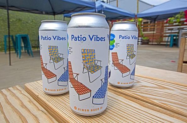 Bingo Beer Co.'s Patio Vibes grisette is a solid choice for a light, crisp summer beer. - SCOTT ELMQUIST
