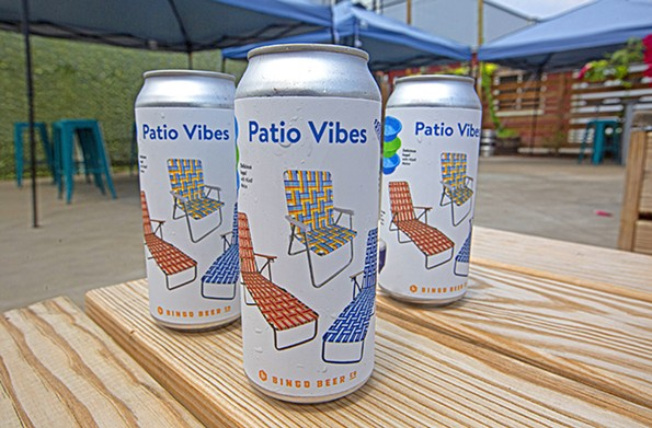 Bingo Beer Co.'s Patio Vibes grisette is a solid choice for a light, crisp summer beer. - SCOTT ELMQUIST