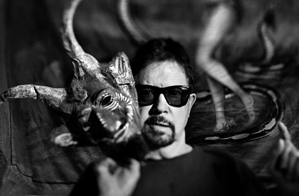 Tom Robbins, celebrated novelist and RPI alumnus ('59), attended classes in the Franklin Street gym and participated in an annual Bang arts festival held there. - JEFF CORWIN