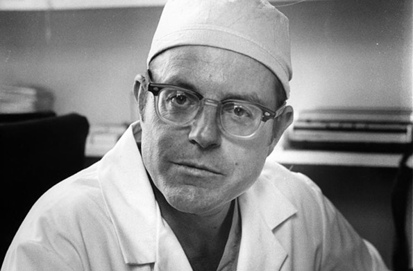 Dr. Richard Lower, shown in 1977, was recruited to MCV from Stanford University. - VCU LIBRARIES