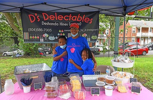 Deshanda Hines offers sweet treats through D's Delectables. - SCOTT ELMQUIST
