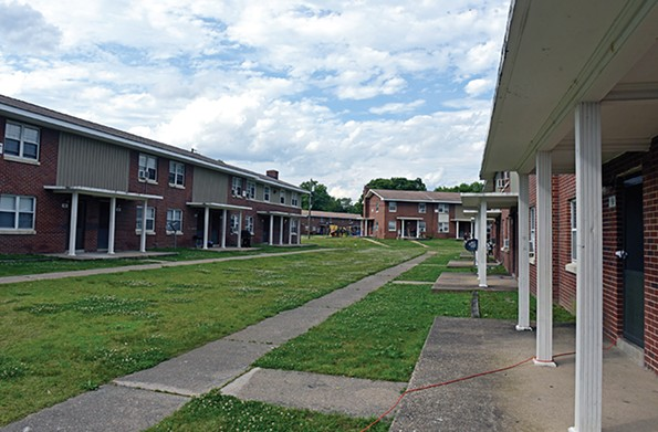 Mosby Court, a public housing project located in the East End of Richmond. - SCOTT ELMQUIST/FILE