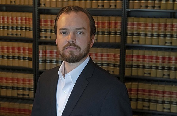 Justin Griffin is a small business lawyer fed up with the lack of accountability and transparency from Richmond's government. - SCOTT ELMQUIST/FILE