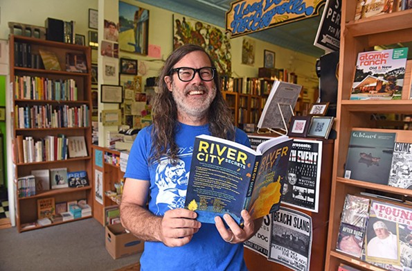 Ward Tefft, owner of Chop Suey Books, says there are some amazing books being released this year by Richmond authors. - SCOTT ELMQUIST/FILE