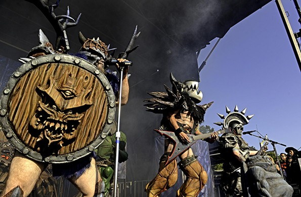 Richmond metal legends Gwar will have two drive-in shows at the Diamond on Saturday, Oct. 10. - SCOTT ELMQUIST/FILE