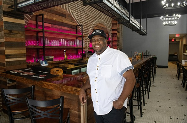 Michael Lindsey, former Eat Restaurant Partners executive chef and culinary director, will open his first solo venture, Lillie Pearl, this November. - SCOTT ELMQUIST