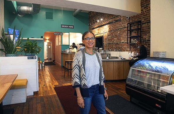 Jamaica House owner Carena Ives says restaurant owners prepare for everything under the sun before opening a new location – but never a globalpandemic. - SCOTT ELMQUIST