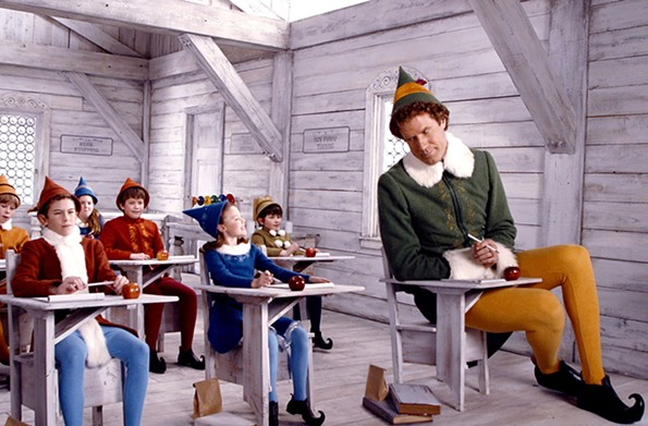 """""""Elf"""" at Brown's Island, Saturday, Dec. 5"""