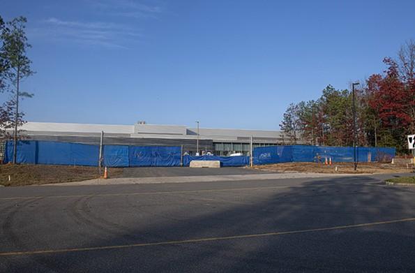 Facebook is building a huge data center in Henrico County. - SCOTT ELMQUIST