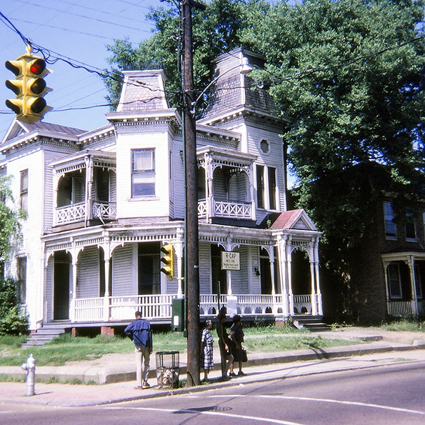 1401 Idlewood Ave., Randolph, May 1970. - EDITH K. SHELTON PHOTOGRAPH COLLECTION, THE VALENTINE