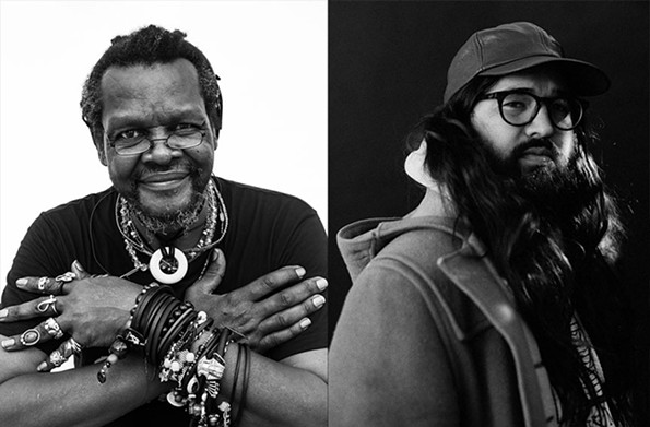 Lonnie Holley and Matthew E. White - PHOTO CREDIT: SHAWN BRACKBILL AND TAMIR KALIFA