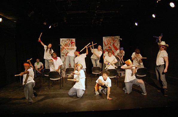 "The Conciliation Project's 2013 production of ""P.I.C.: the Prison Industrial Project."""