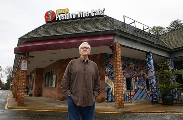 GarthLarcen, owner of Positive Vibe Café, in South Side. - SCOTT ELMQUIST