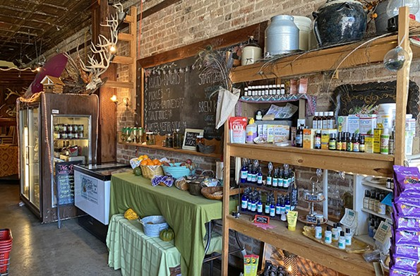 Farmstead Ferments Mercantile features a flavorful and healthful selection oflocal products, including vegetables, fruits and herbs from its nearby farm. - SCOTT ELMQUIST