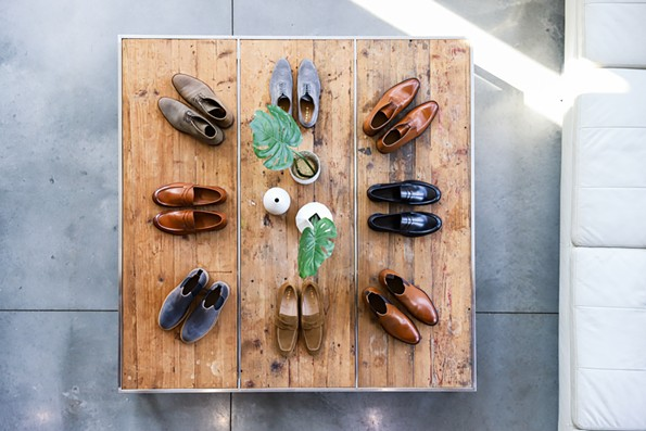 Premium menswear company Ledbury is selling its first in-house shoe brand, Tangier, exclusively at Ledbury.com and its flagship store at 315 W. Broad St.