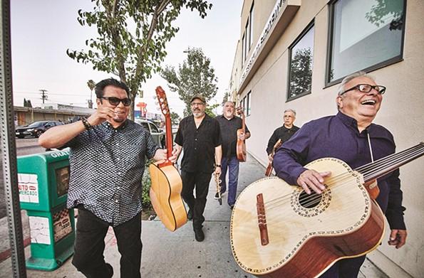 Los Lobos at Meadow Event Park (Aug. 27). - PIERO F. GIUNTI