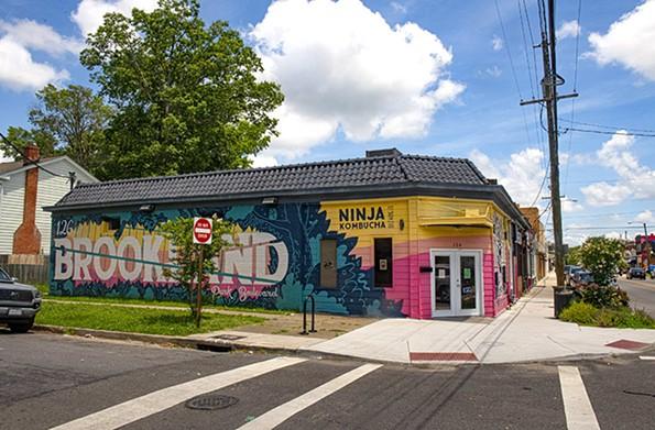 Ninja Kombucha is located at 126 W. Brookland Park Blvd. - SCOTT ELMQUIST