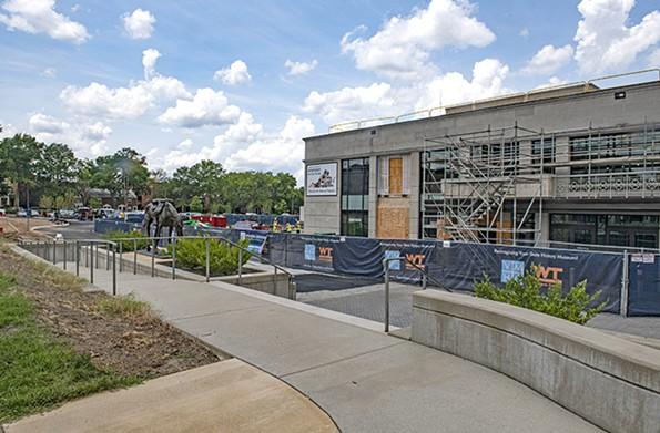 The history museum is adding 50% more public exhibition space. - SCOTT ELMQUIST
