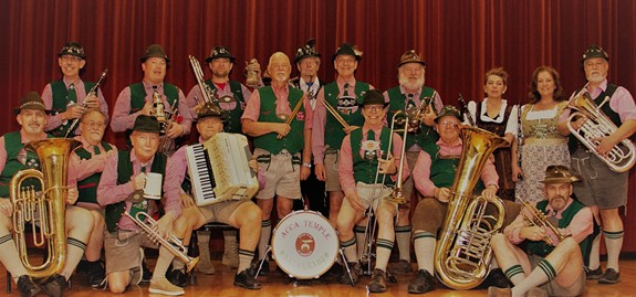 An Afternoon of Oktoberfest w/ the Sauerkrauts will be held on Sunday, Oct. 17 at 3 p.m.